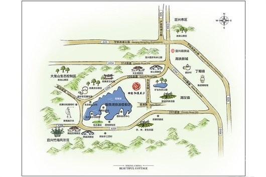 中交·阳羡美庐交通图