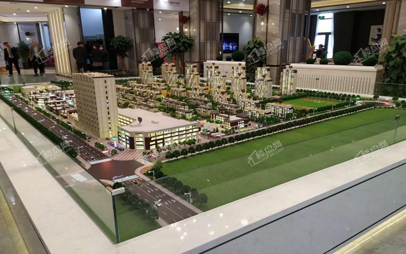 绿地新里城实景图