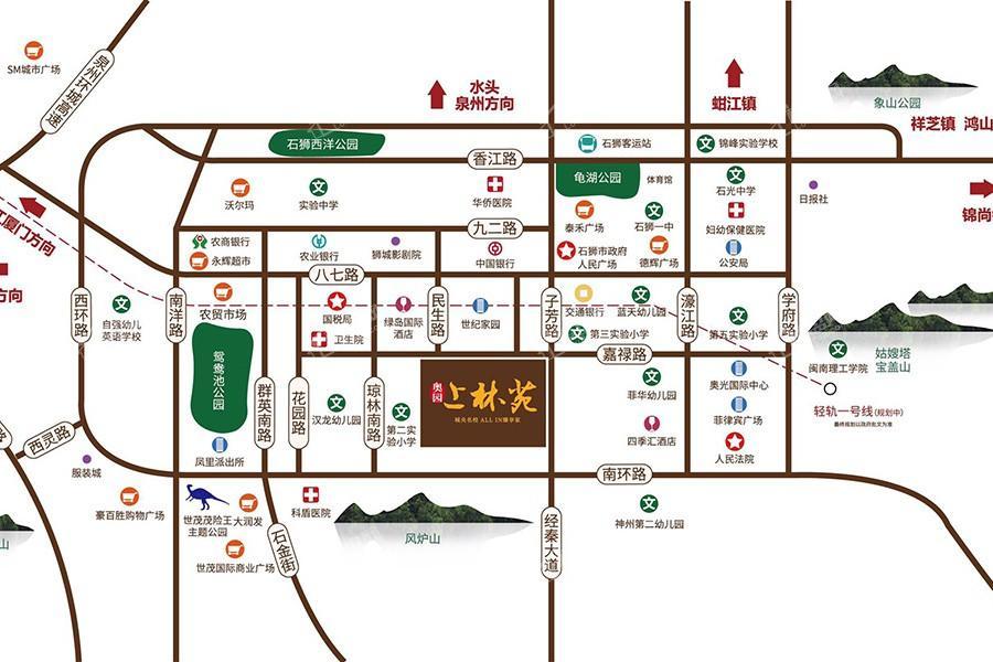 奥园上林苑位置图