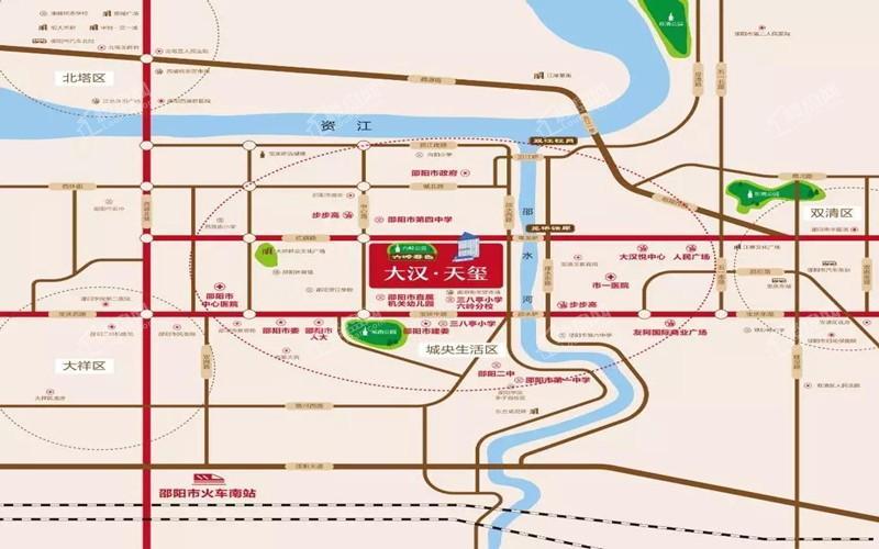 大汉·天玺位置图