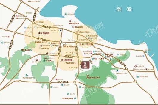 中海知孚里交通图
