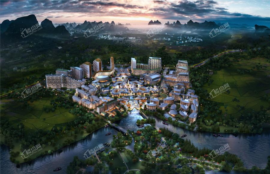 自在桂林效果图