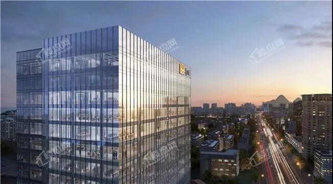 桂林置地金融大厦效果图