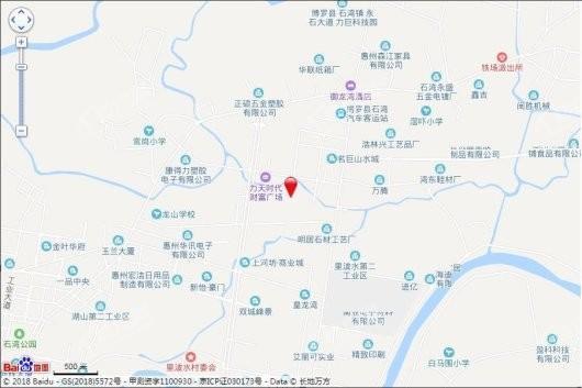 聚龙天誉湾二期交通图