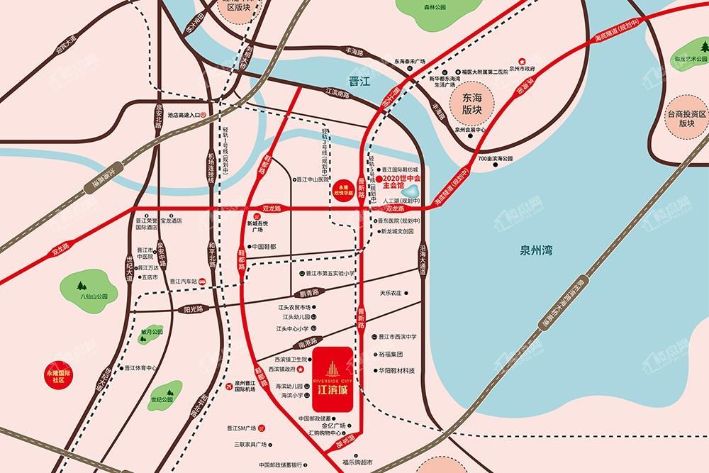 永隆江滨城位置图