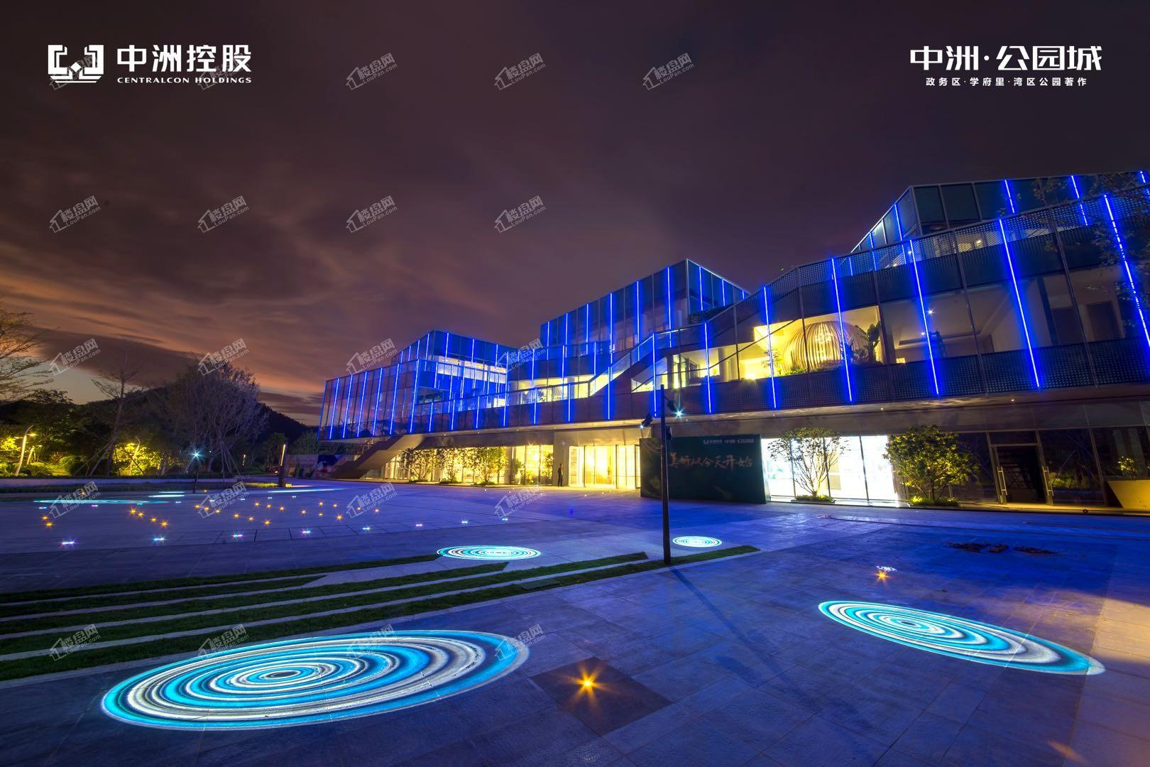 中洲河谷花园实景图