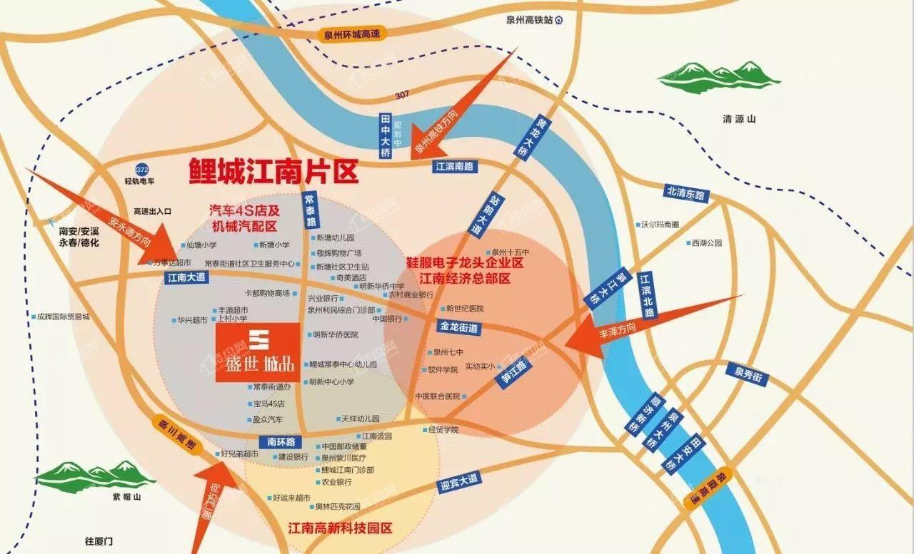 盛世城品位置图