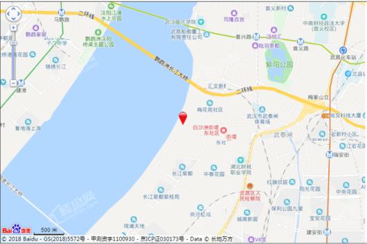 融创望江府交通图