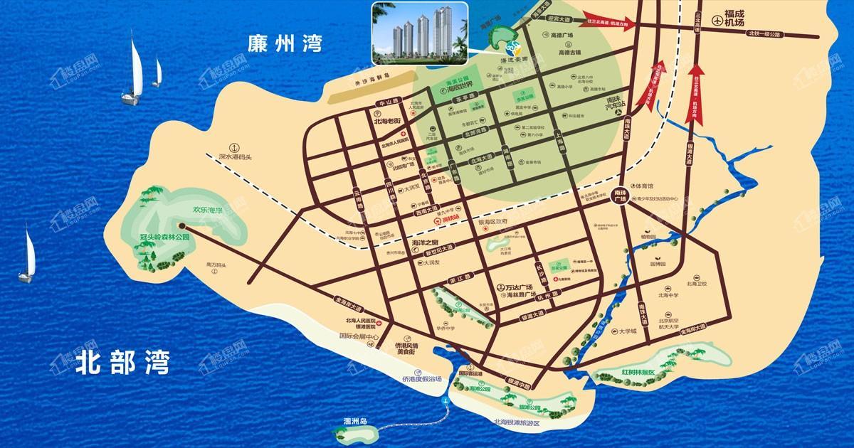 海逸豪园位置图