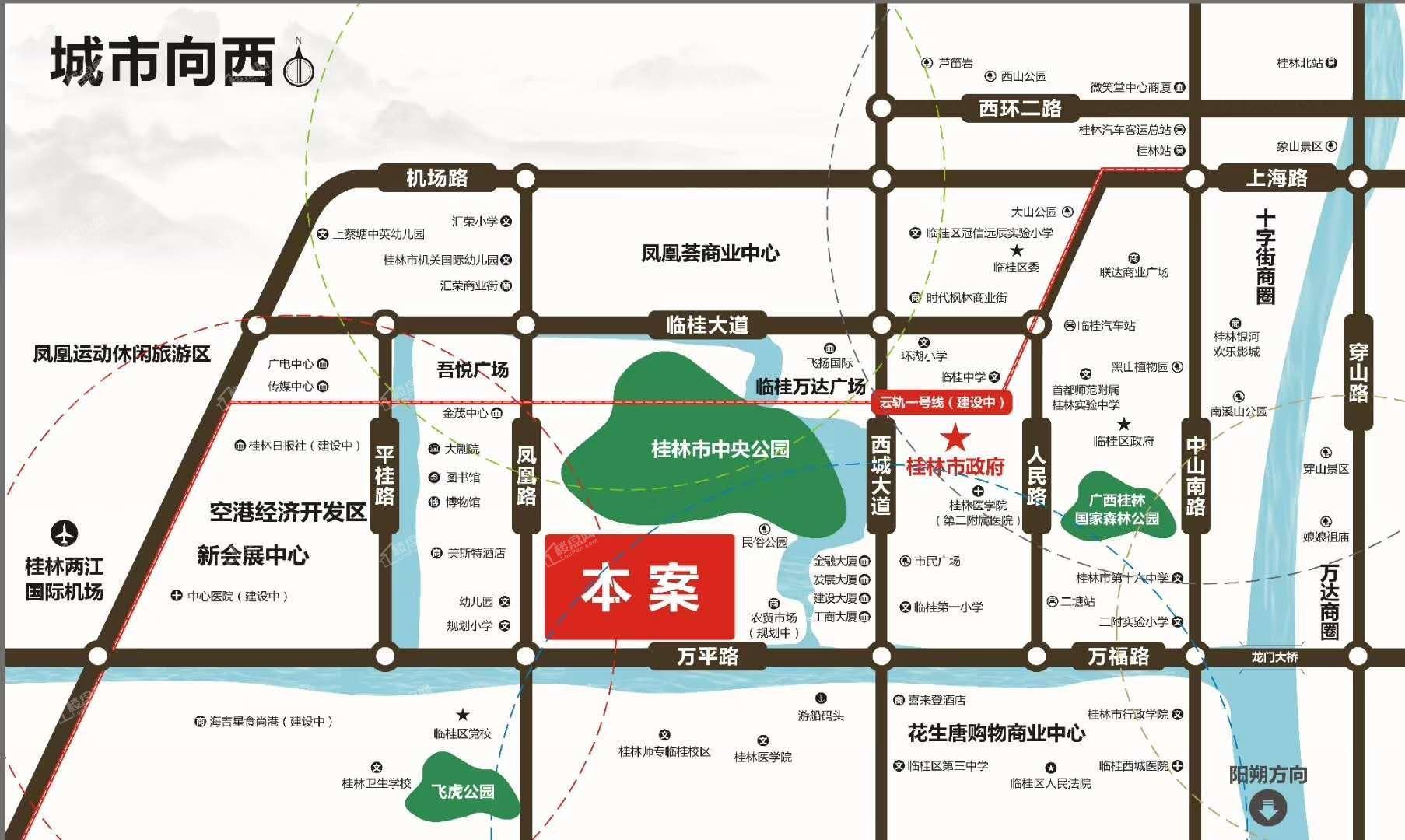 佳城地王国际位置图
