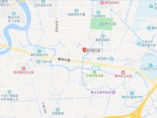 宝龙一城位置图