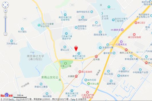 恒大溪山公馆交通图