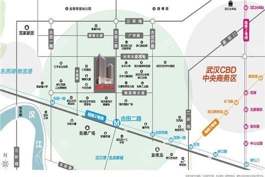 凯景国际大厦交通图
