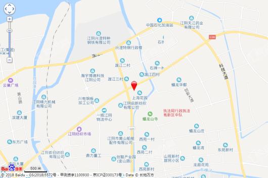 陆洋滨江壹号交通图
