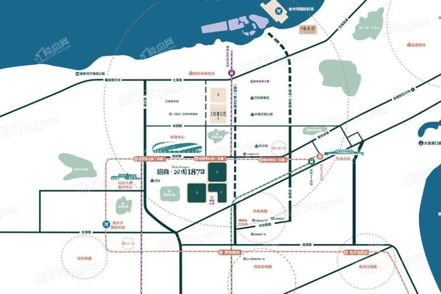 招商公园1872位置图
