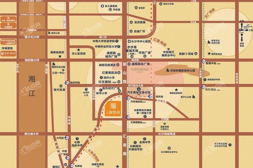 中海珑悦府位置图