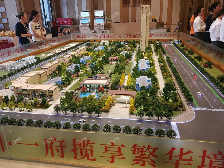 荆州领地·蘭台府实景图