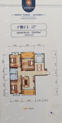 3#楼C户型126.65平米