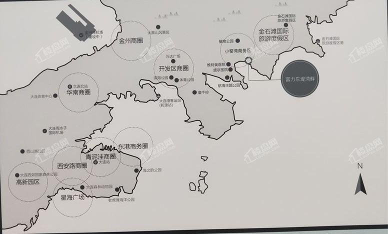 富力东堤湾畔(前海)位置图