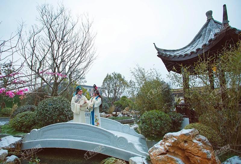 华邦观湖别院实景图