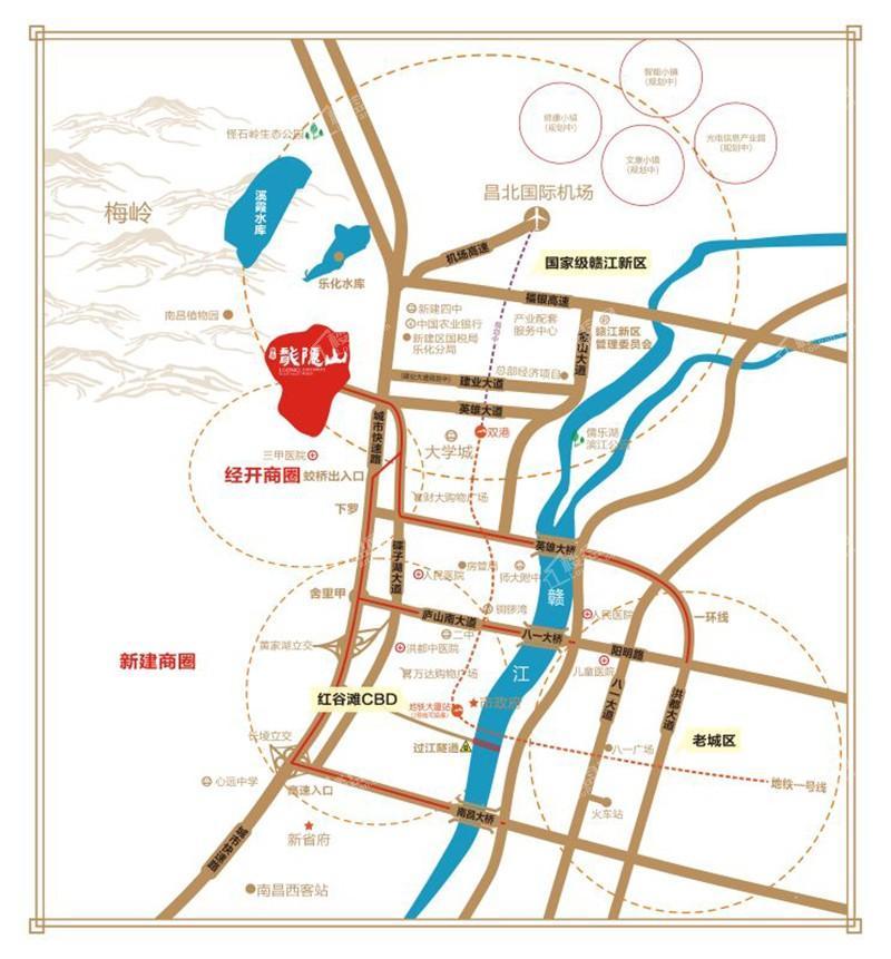 華宸龍隱山位置圖