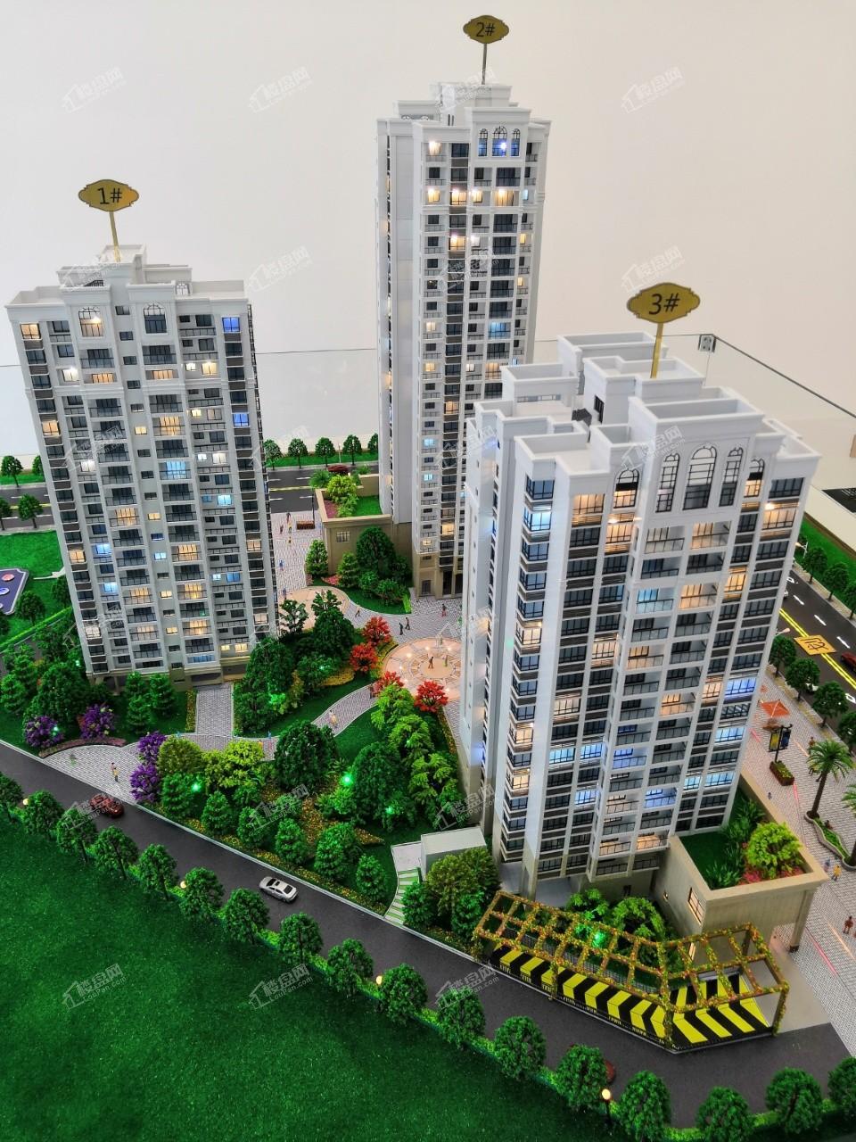安和海尚公馆实景图