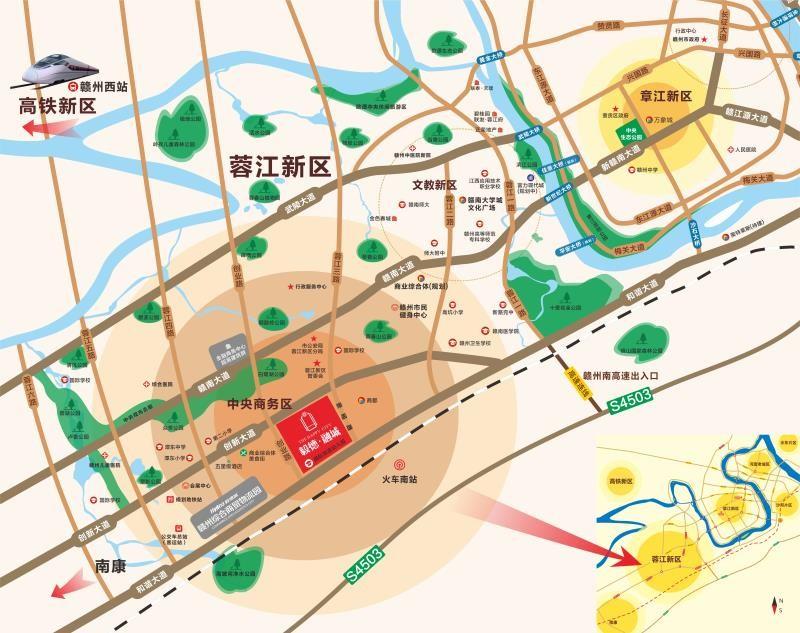 毅德融城位置图