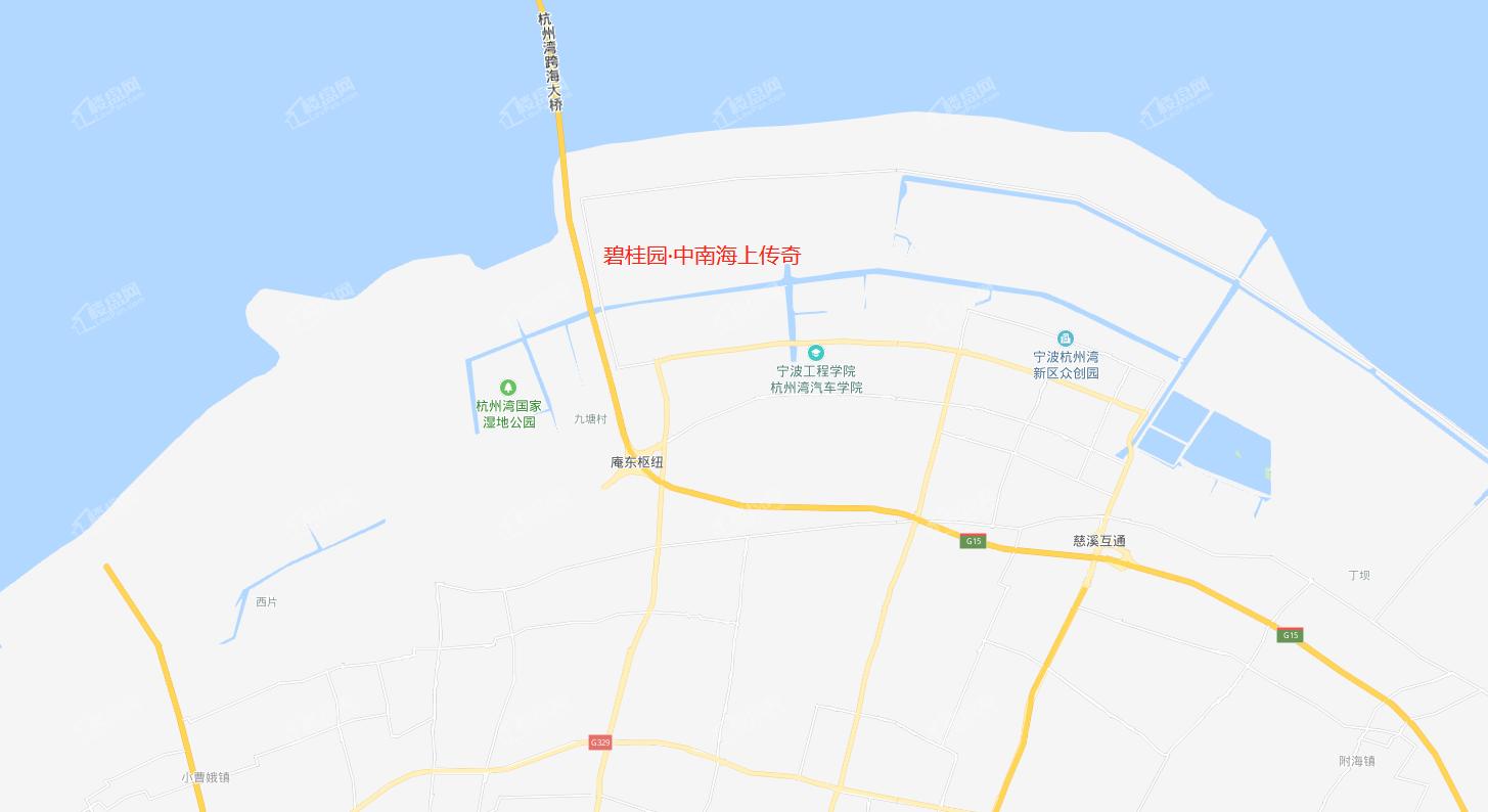 杭州湾碧桂园海上传奇位置图