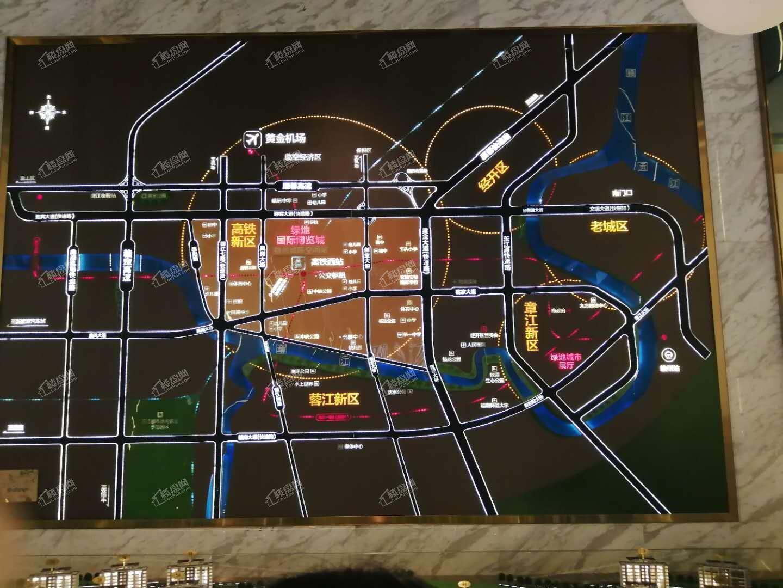绿地赣州城际空间站位置图