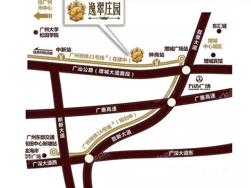 逸翠庄园位置图