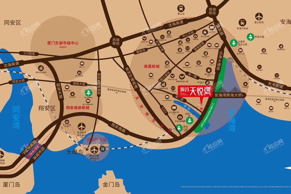 源昌天悦湾位置图