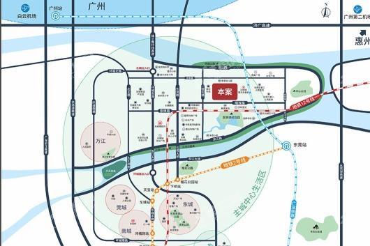 中洲里程花园交通图
