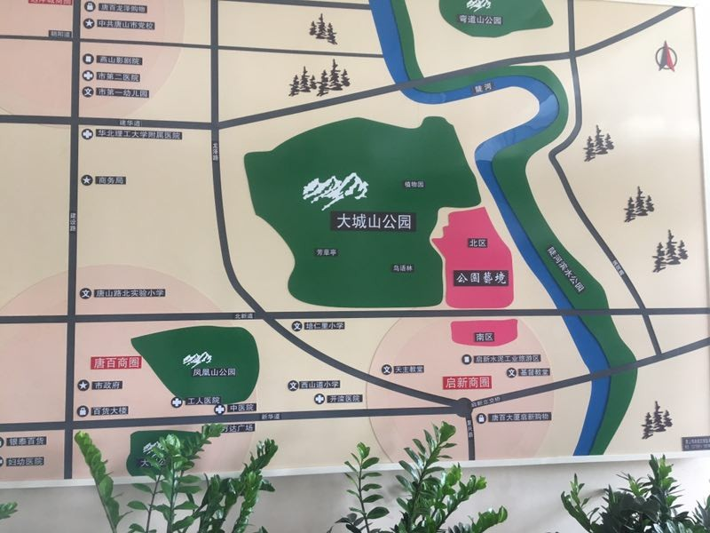 公园艺境位置图