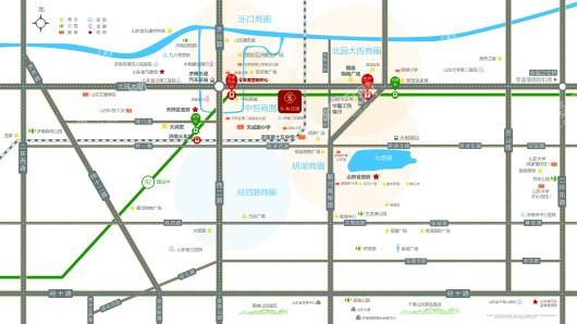 东海花园交通图