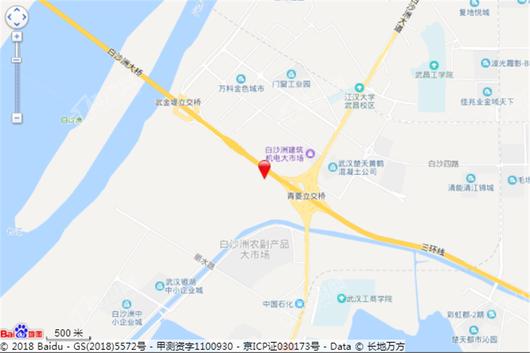 景瑞天赋滨江交通图