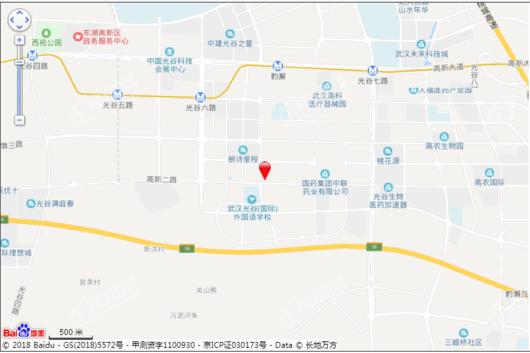 光谷学府交通图