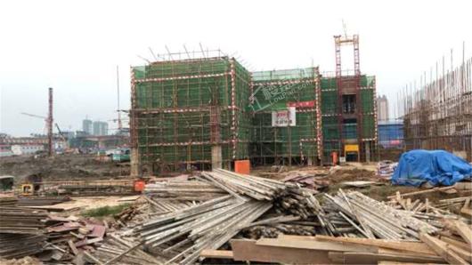 中国铁建江语城实景图