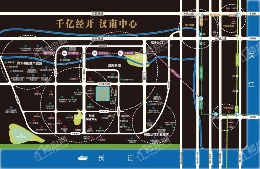铂悦中心交通图