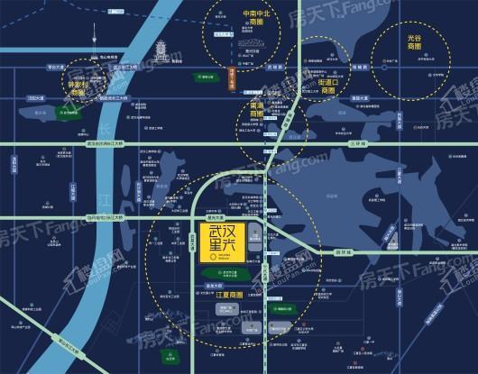 武汉星光交通图