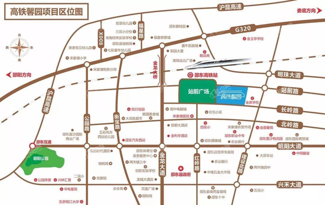 高铁馨园位置图