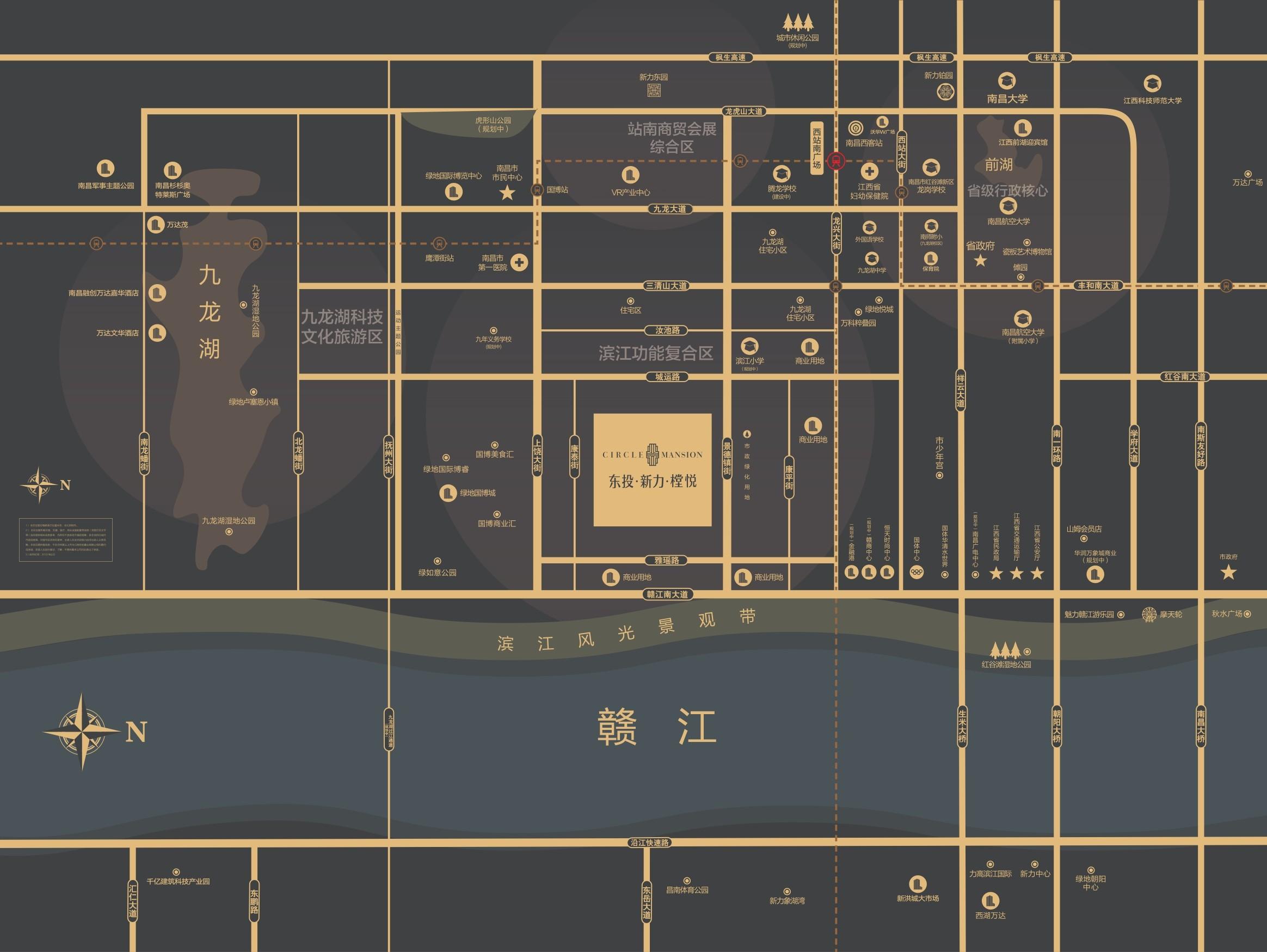 东投新力樘悦位置图
