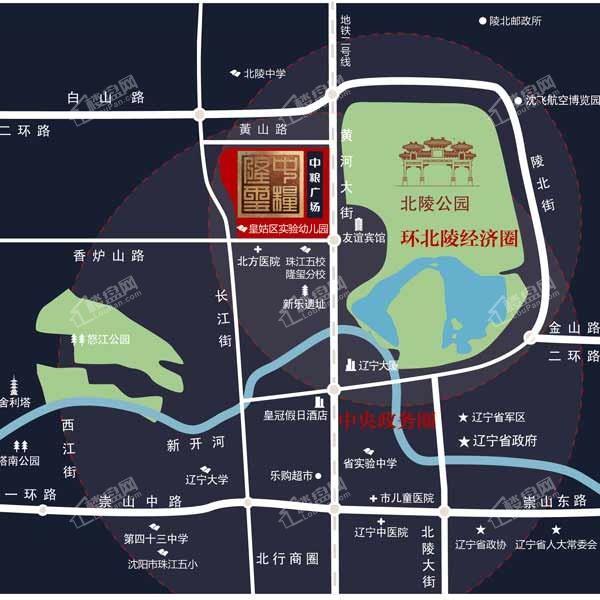 中粮广场位置图