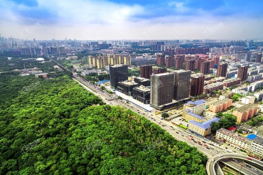 中粮广场实景图