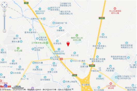 云靖花园(都会学府)交通图