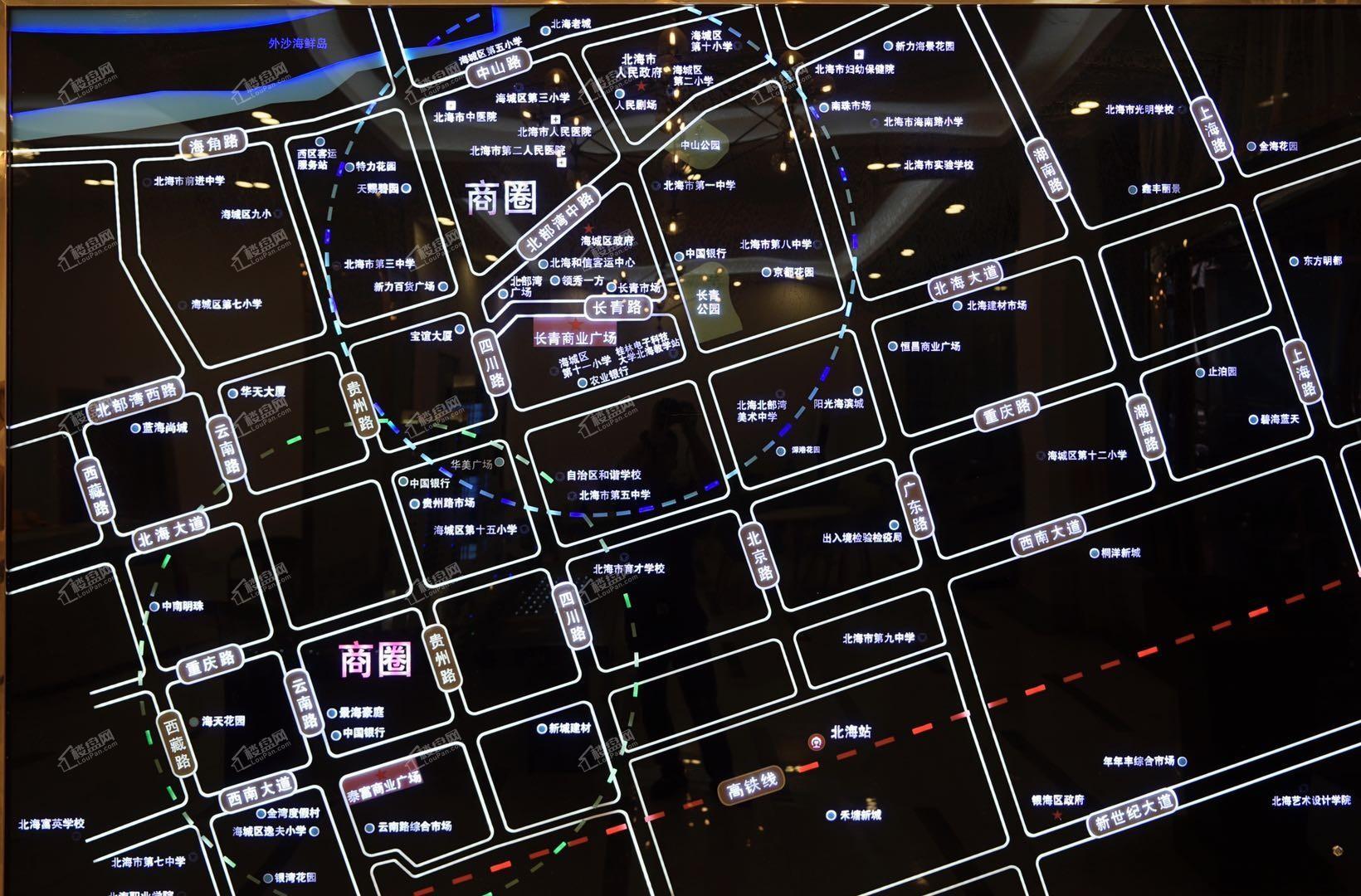 长青商业广场位置图