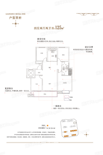 梁辉·御湖湾户型图