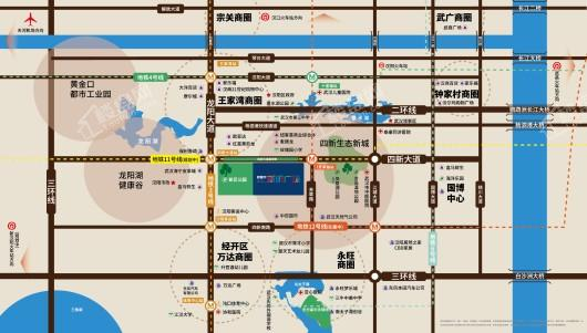 新昕广场交通图