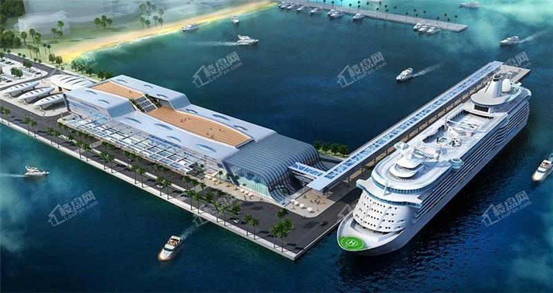 周边设施-国际邮轮母港
