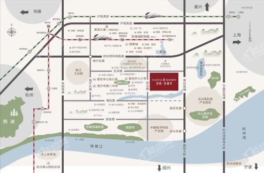 鸿翔·悦澜湾交通图