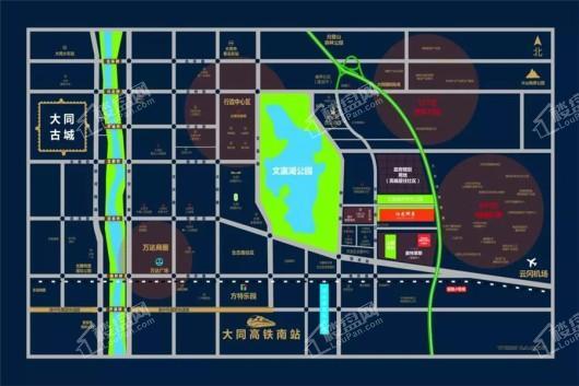 阳光郦景交通图